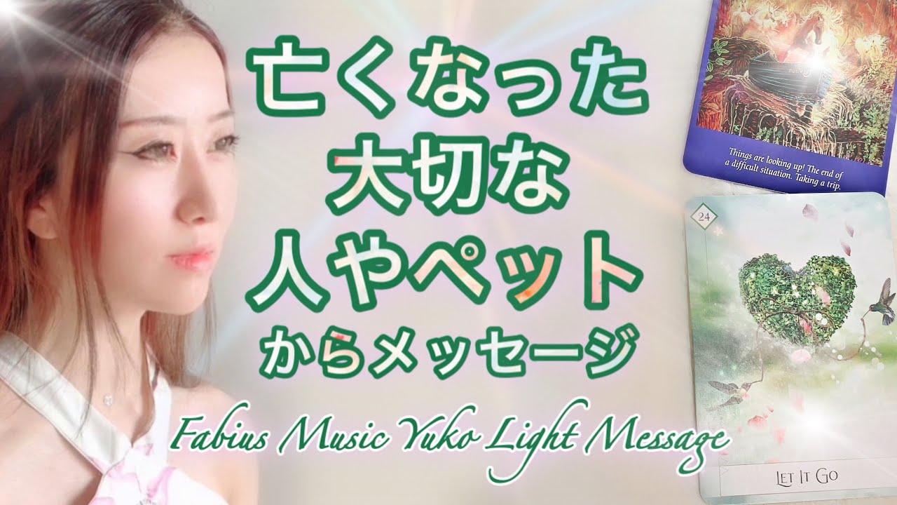 亡くなられた大事な人やペットからあなたへメッセージ  ⚜️高波動音楽 高次元メッセージ⚜️ FabiusYuko ツインレイ 👨🏻👩🏻 奇跡