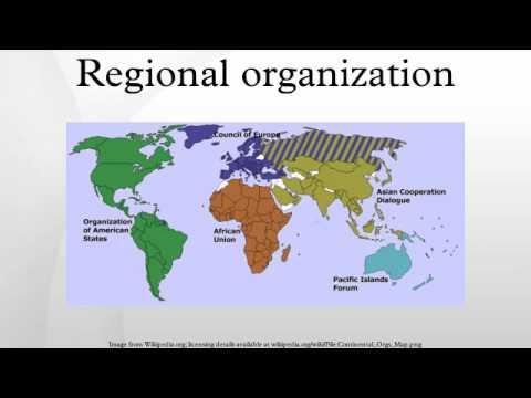 Regional organization