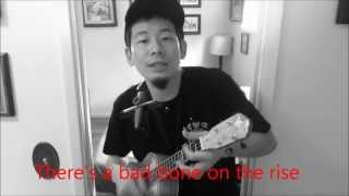 White Kaps - Bad Bone (Ukulele Cover ウクレレ)