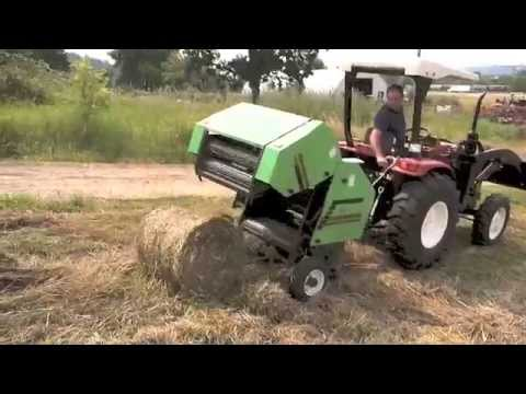 Baler Mini Round Baler Use On 3pt Of 25 60 Hp Tractor