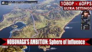 NOBUNAGA'S AMBITION: Sphere of Influence gameplay PC HD [1080p/60fps]