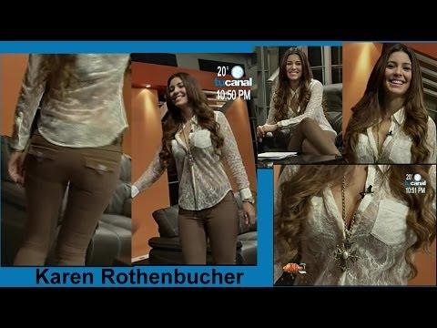 Karen Rothenbucher en Jeans y Sexy Escote 18 de Octubre 2013 Conductora Kaboom Cd. Juárez thumbnail