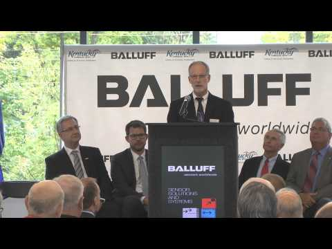 Balluff Expansion Celebration Sept 15, 2014 (full length video)