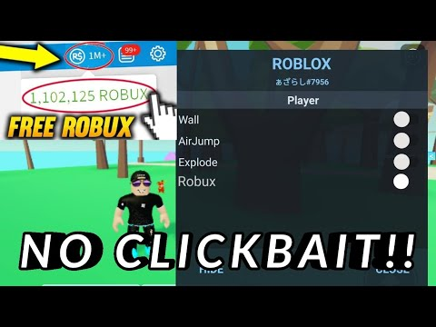 Download Roblox Mod Apk Unlimited Robux UPDATE NO CLICKBAIT