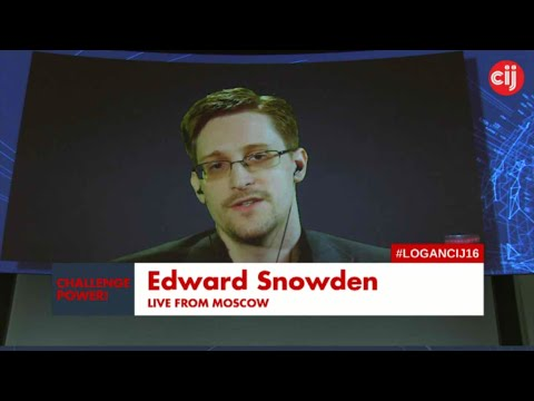 Edward Snowden / Exiled CIA Staffer Challenges Security vs Freedom