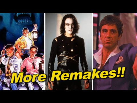 The Crow, Scarface and Monster Squad getting REMAKES!!