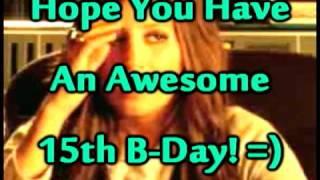 Happy Birthday Janine!!!