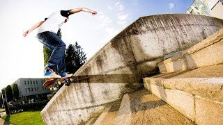 Technical Street Shredding in Salzburg | Check out skateboarder Philipp Josephu