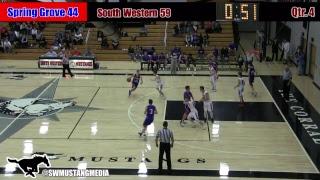Boys Basketball: South Western vs. Spring Grove