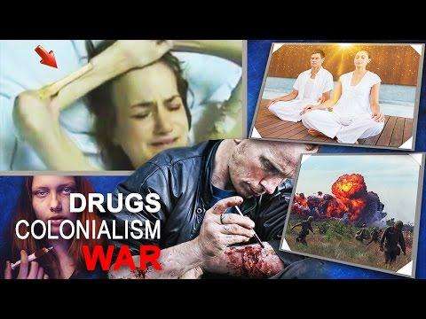 Alcyon Pléiades 56: Drogues, trafic de drogue, guerres inventées, colonialisme, Etats-Unis-Corée