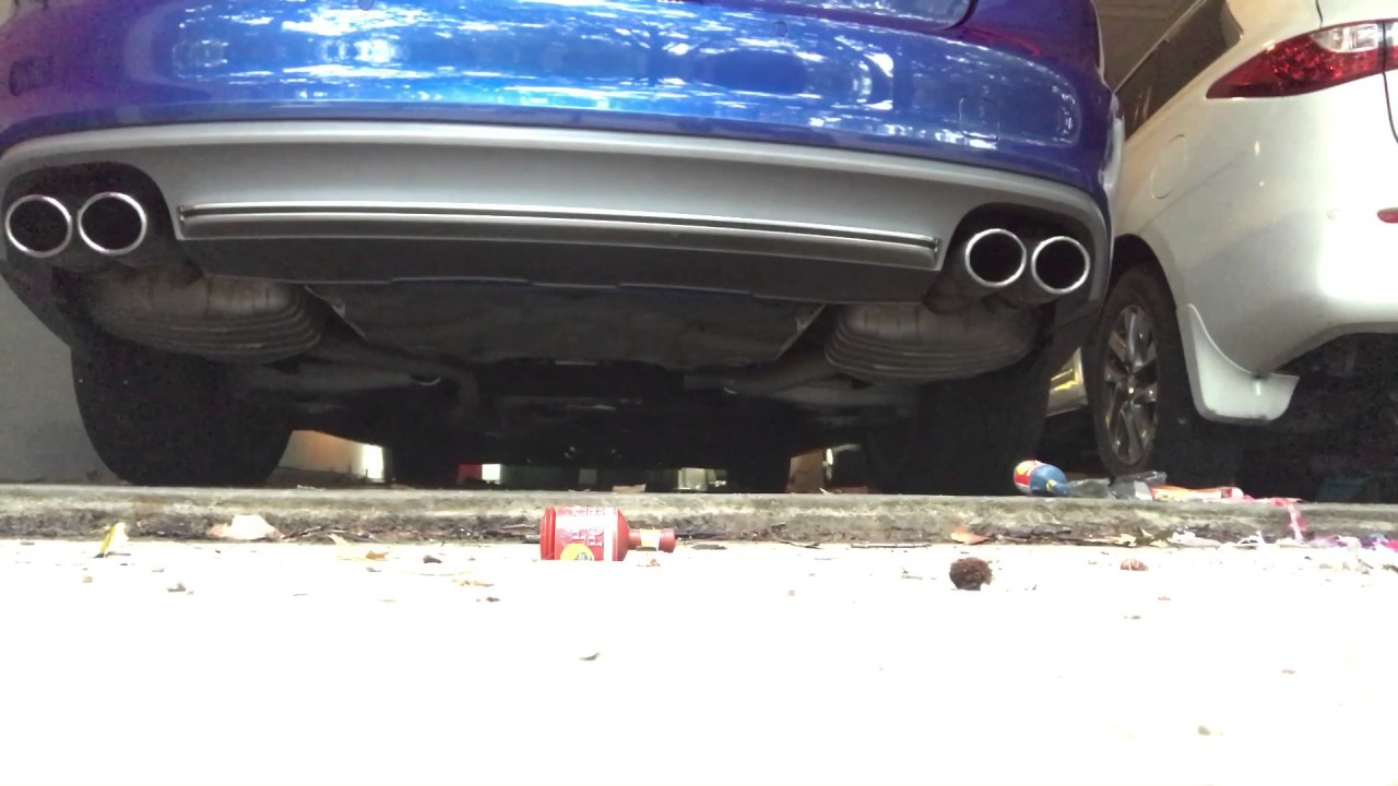 Audi C7 S6 Stock Catback Exhaust with APR Downpipes Cold ...