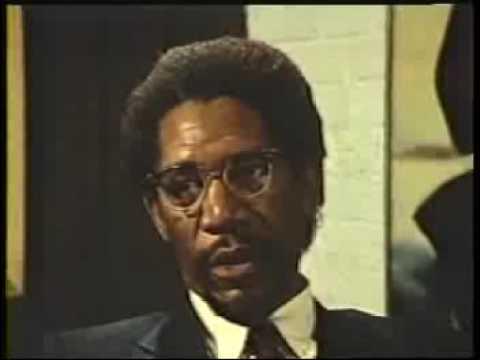 Morgan Freeman as Malcolm X FBI Scene