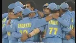 INDIA VS PAKISTAN SAMSUNG CUP 2004 5TH ODI HIGHLIGHTS PART2