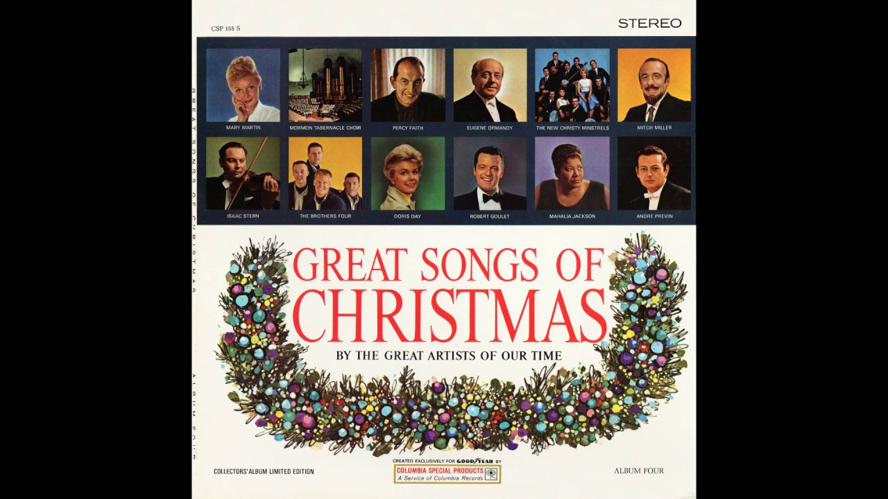 Great Songs of Christmas Album Four. Goodyear. 1964 - YouTube