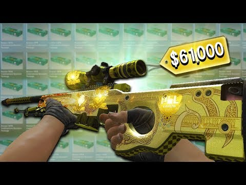 Opening The Dragon Lore Souvenir Case. ($61,000 Skin)