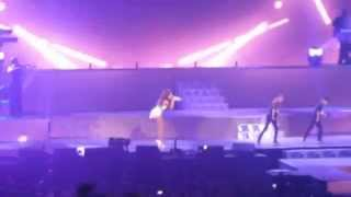 Ariana Grande with Lucky Aces - Rogers Arena - The Honeymoon Tour