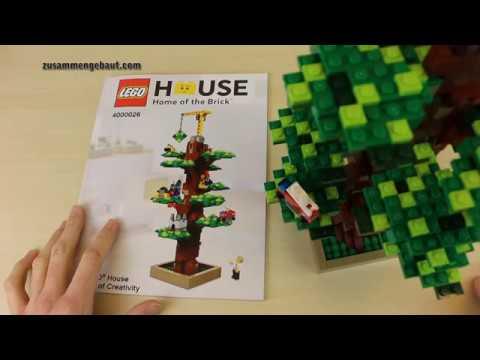 LEGO House Tree of Creativitiy 4000026 Building Instruction - YouTube