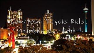 Night Bicycle Ride: Downtown San Antonio Texas