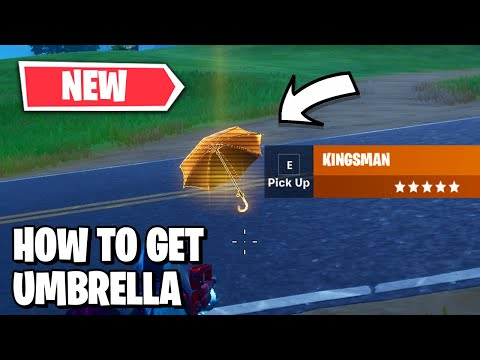 How To Get NEW Kingsman Umbrella In Fortnite! - Kingsman X Fortnite / Kingsman Umbrella Gameplay