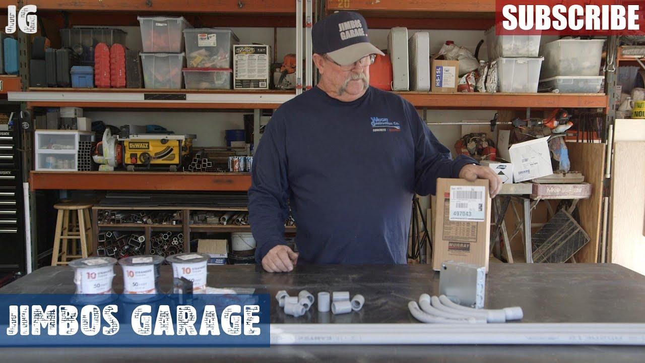 Running 220 Power for NewAir Garage Heater - Jimbos Garage