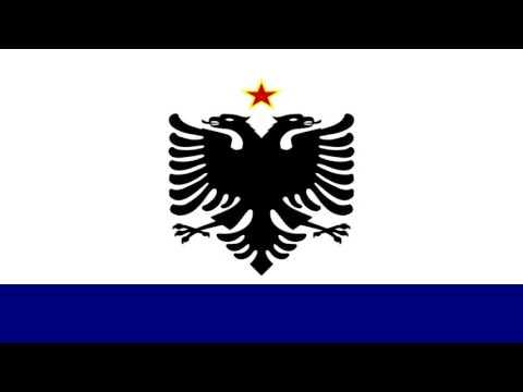 Enseña del Estado de Albania (1958-92) - Sign of the State of Albania (1958-92)