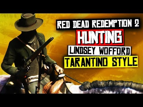 Hunting Lemoyne Raider Lindsey Wofford TARANTINO STYLE - Red Dead Redemption 2 Gameplay thumbnail
