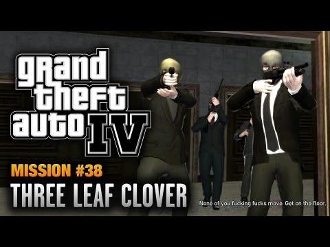 GTA 4 - Mission #38 - Three Leaf Clover (1080p)