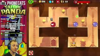 King of Thieves - Clash of Clans + Super Meat Boy