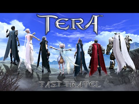 Area Travelling in TERA