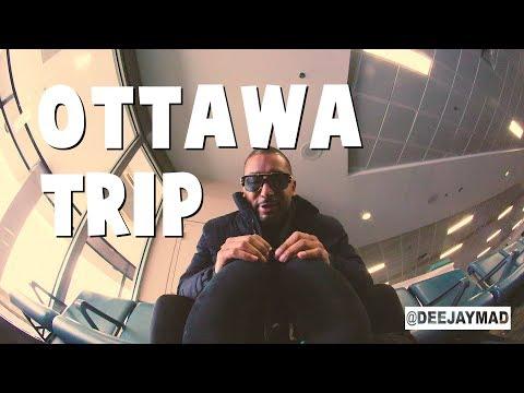 Ottawa, Canada trip Prt1 (The Airport)