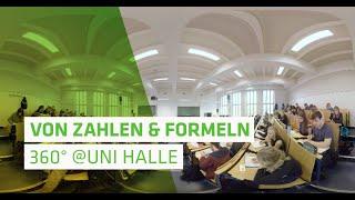Uni Halle in 360°: Mathe-Vorlesung im modernen Hörsaal