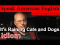 Idiom #1: It's Raining Cats and Dogs - Learn to Speak American English