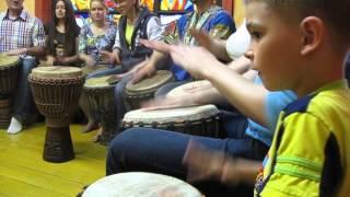 Мастер класс игры на барабанах