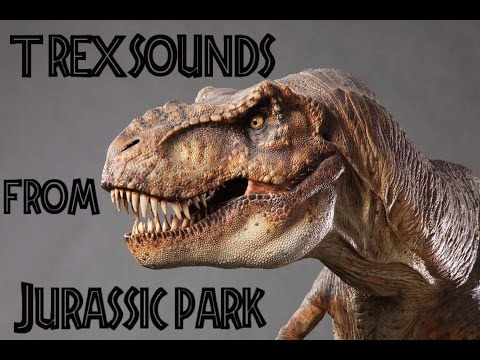 The Many sounds of The TRex from Jurassic Park