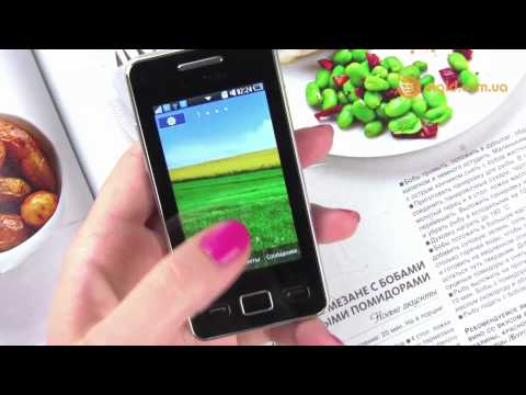 Видеообзор телефона Samsung Star 2 S5260