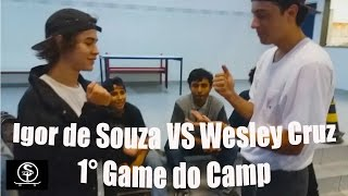 Baixar Wesley Cruz VS Igor de Souza | 1° Game of skate do Campeonato