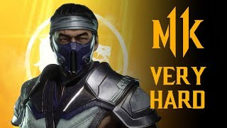 Mortal Kombat 11 - Sub-Zero Klassic Tower (VERY HARD) NO MATCHES LOST