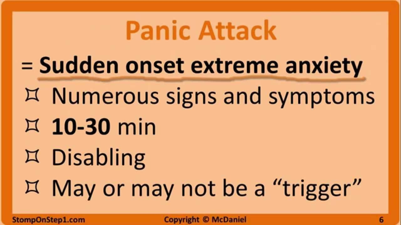 Signs Of Anxiety Disorder