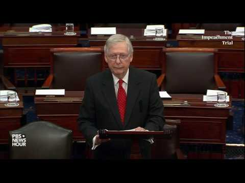 WATCH: McConnell backs off impeachment limits