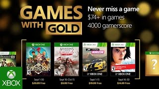 Xbox   September Games With Gold