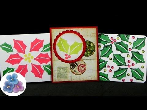 tarjetas navideas re facil diy christmas cards tarjetas de navidad pintura facil