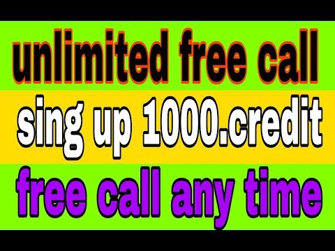 how to make best free call 1200.credit sing up unlimited earn credit !! Uploaded by all tech akash