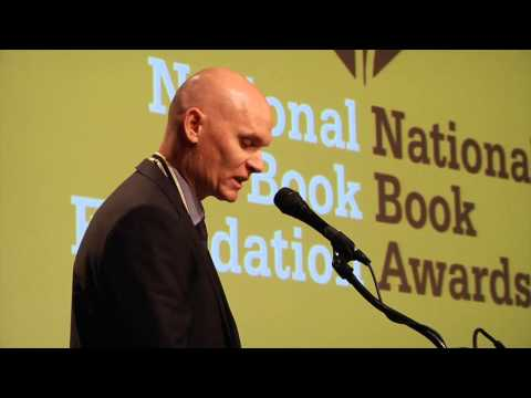 Anthony Doerr reads from All the Light We Cannot See at 2014 NBA Finalists Reading