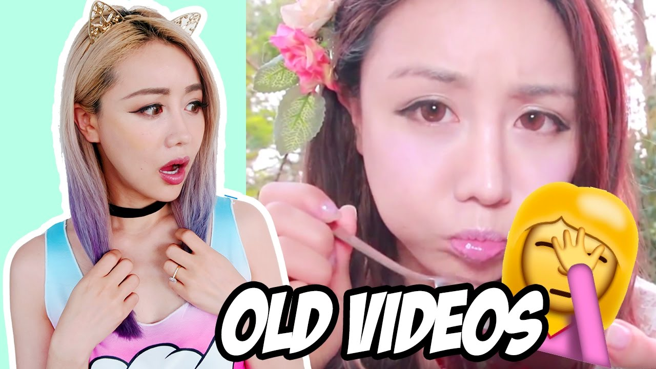 Wengie Reacting To Old Videos Youtube