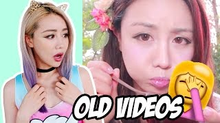 WENGIE REACTING TO OLD VIDEOS!