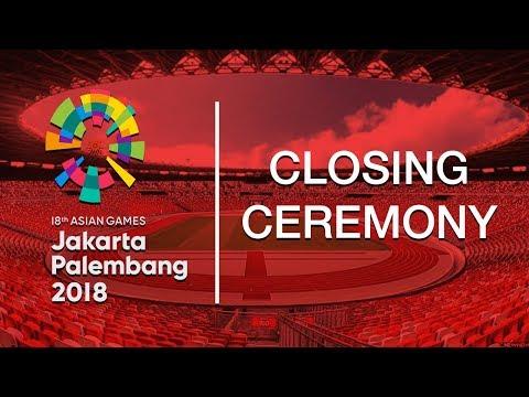 Jadwal Acara Closing Ceremony Asian Games 2018