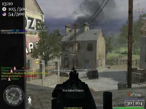 call of duty 2 multiplayer gameplay carentan france 1