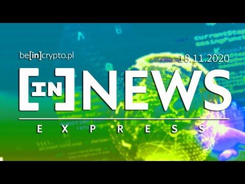 Bitcoin WARIUJE!, Grayscale rekordowe, Samsung + blockchain - [in]NEWS Express - 18.11.2020