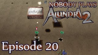 Nobody Plays Alundra 2 Ep. 20: More minigame mayhem