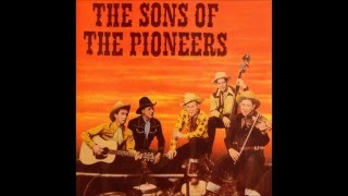 Sons Of The Pioneers Cool Water song by Bob Nolan